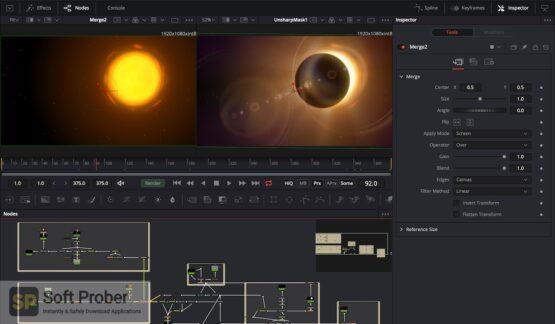 Blackmagic Design Fusion Studio 2020 Latest Version Download Softprober.com