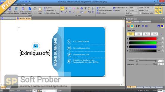 Business Card Designer 2020 Direct Link Download-Softprober.com