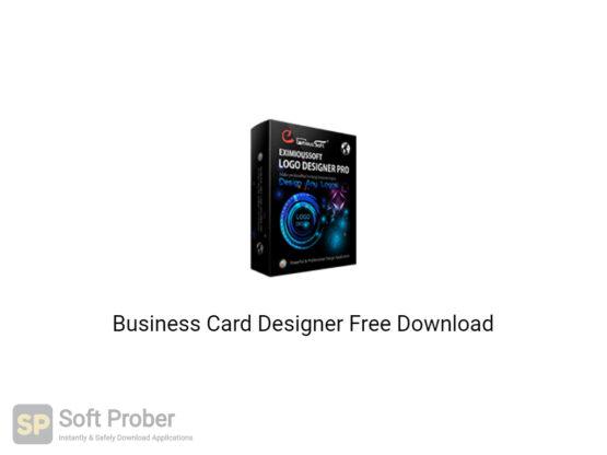 Business Card Designer 2020 Free Download-Softprober.com