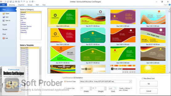 Business Card Designer 2020 Latest Version Download-Softprober.com