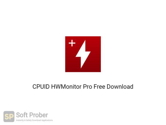 CPUID HWMonitor Pro 2020 Free Download-Softprober.com