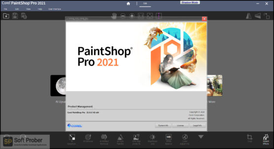 Corel PaintShop Pro 2021 Offline Installer Download-Softprober.com