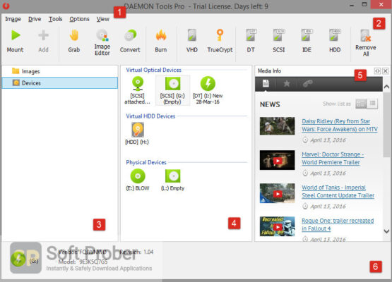 DAEMON Tools ProLiteUltra 2020 Offline Installer Download-Softprober.com