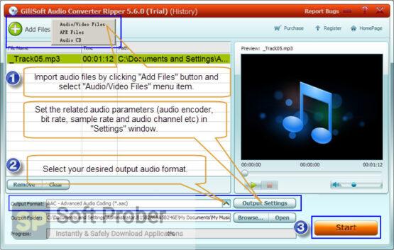 GiliSoft Audio Toolbox Suite 2020 Offline Installer Download-Softprober.com