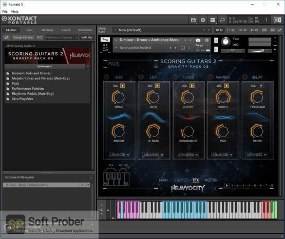 Heavyocity Scoring Guitars 2 Offline Installer Download-Softprober.com
