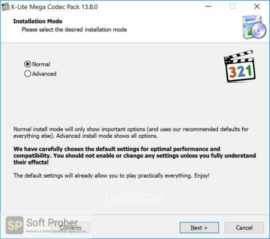 K Lite Codec Pack 2020 Direct Link Download-Softprober.com