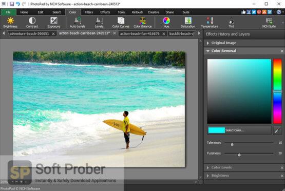 NCH PhotoPad Image Editor Professional 2020 Direct Link Download-Softprober.com