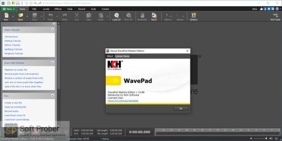 NCH WavePad 2020 Offline Installer Download-Softprober.com