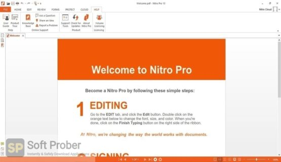 Nitro Pro Enterprise 2020 Latest Version Download-Softprober.com