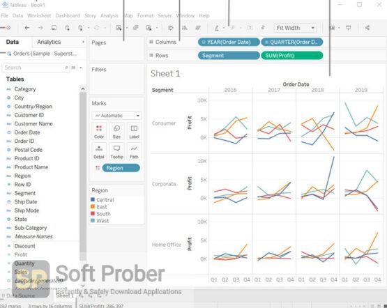 Tableau Desktop Professional 2020 Direct Link Download-Softprober.com