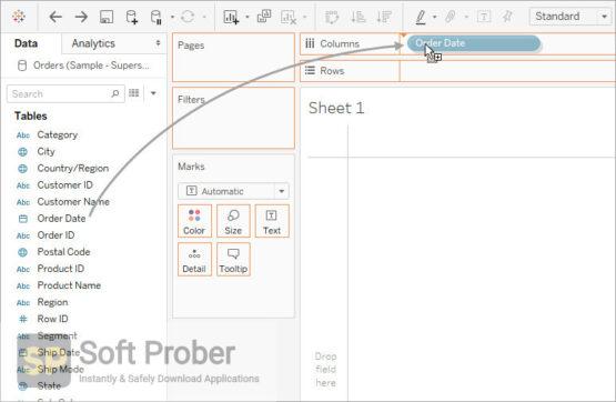 Tableau Desktop Professional 2020 Latest Version Download-Softprober.com