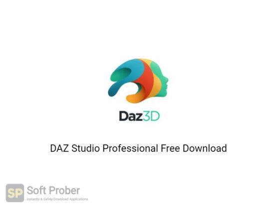 DAZ Studio Professional 2020 Free Download-Softprober.com
