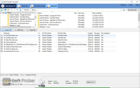 EZ CD Audio Converter 2020 Offline Installer Download-Softprober.com