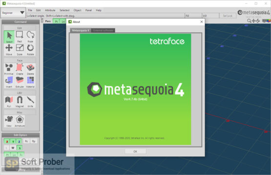 Tetraface Metasequoia 2020 Offline Installer Download-Softprober.com