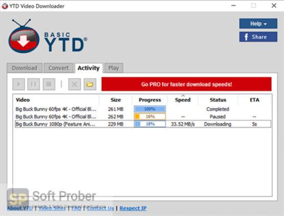YTD Video Downloader 2020 Offline Installer Download-Softprober.com