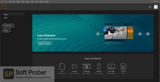 Adobe Illustrator CC 2021 Direct Link Download-Softprober.com