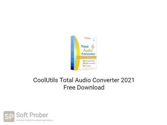 CoolUtils Total Audio Converter 2021 Free Download-Softprober.com