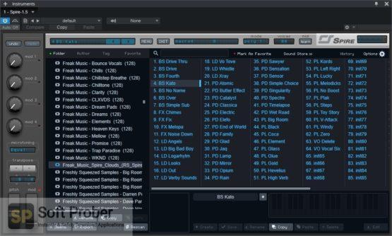 Freak Music Spire Clouds Offline Installer Download-Softprober.com