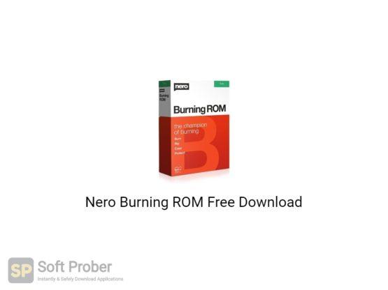 Nero Burning ROM 2021 Free Download-Softprober.com