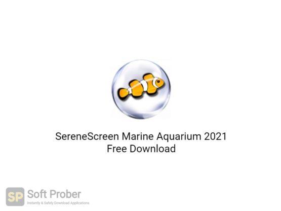 SereneScreen Marine Aquarium 2021 Free Download-Softprober.com
