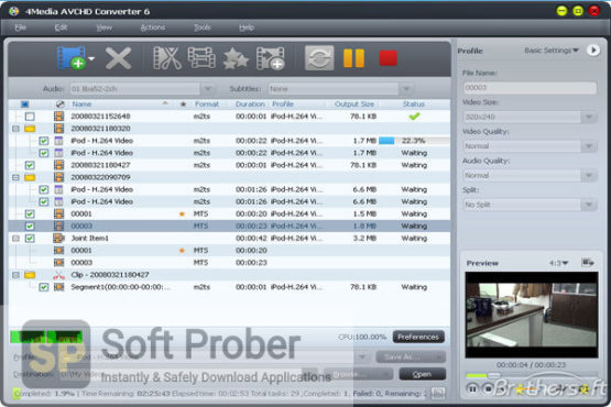 4Media AVCHD Converter 2021 Latest Version Download-Softprober.com