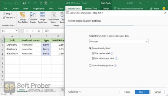 AbleBits Ultimate Suite for Excel 2021 Business Edition Offline Installer Download-Softprober.com
