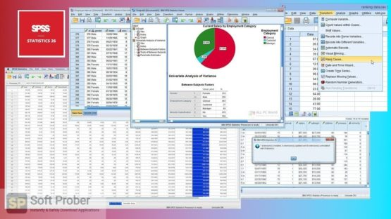 IBM SPSS Statistics 26.0 IF006 2021 Offline Installer Download-Softprober.com