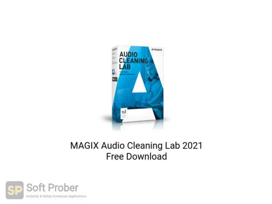 MAGIX Audio Cleaning Lab 2021 Free Download-Softprober.com