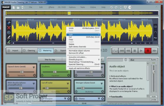 MAGIX Audio Cleaning Lab 2021 Offline Installer Download-Softprober.com