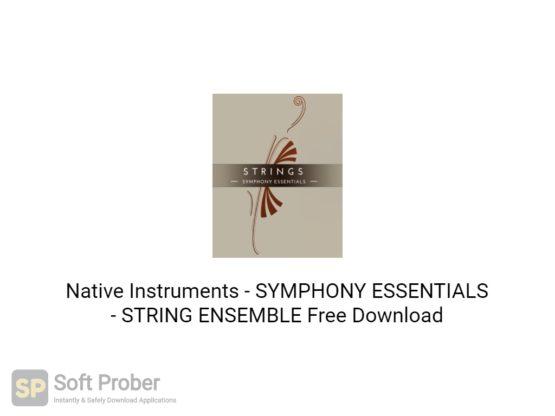 Native Instruments SYMPHONY ESSENTIALS STRING ENSEMBLE Free Download-Softprober.com