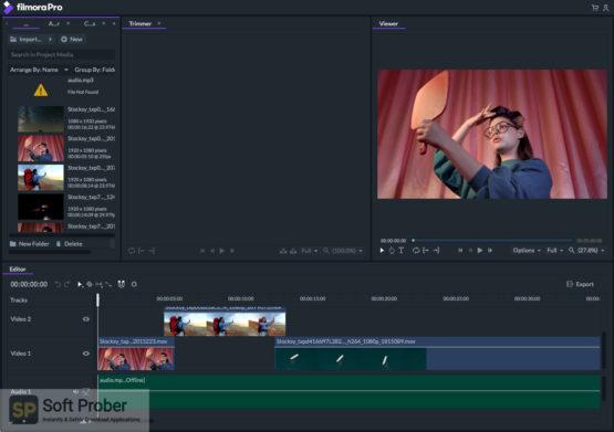 Wondershare Filmora Studio Pro 2021 Offline Installer Download-Softprober.com