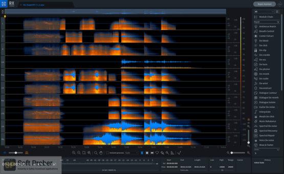 iZotope RX 8 Audio Editor 2021 Offline Installer Download-Softprober.com