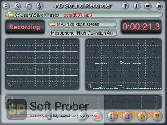AD Sound Recorder 5 Direct Link Download-Softprober.com