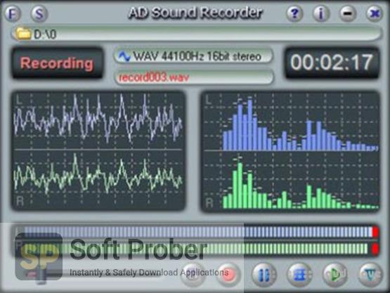 AD Sound Recorder 5 Offline Installer Download-Softprober.com