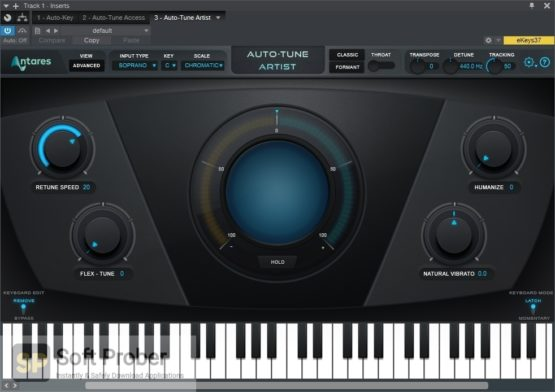 Antares Auto Tune Pro 9 2021 Direct Link Download-Softprober.com