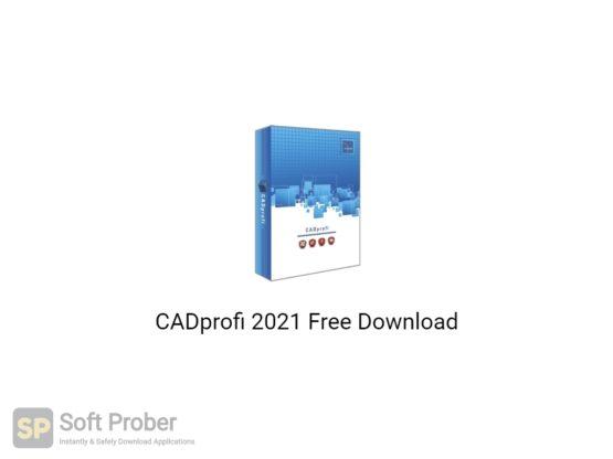 CADprofi 2021 Free Download-Softprober.com