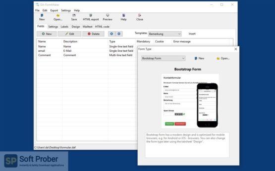 DA FormMaker Professional 2021 Offline Installer Download-Softprober.com