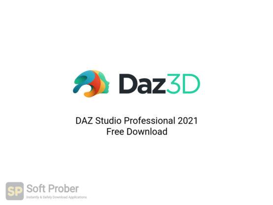 DAZ Studio Professional 2021 Free Download-Softprober.com