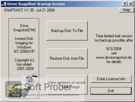 Drive SnapShot 2021 Latest Version Download-Softprober.com