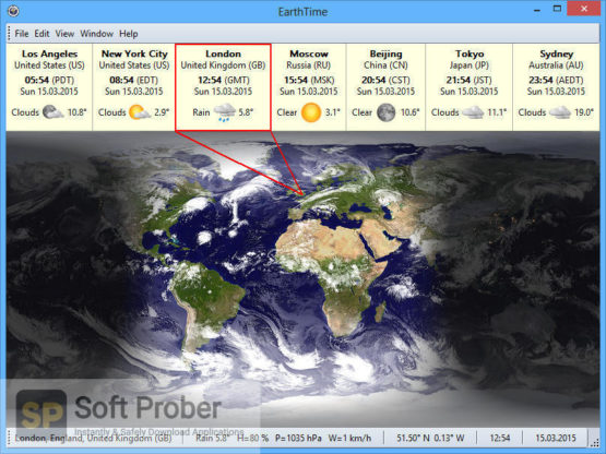 EarthTime 6 2021 Offline Installer Download-Softprober.com