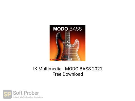 IK Multimedia MODO BASS 2021 Free Download-Softprober.com