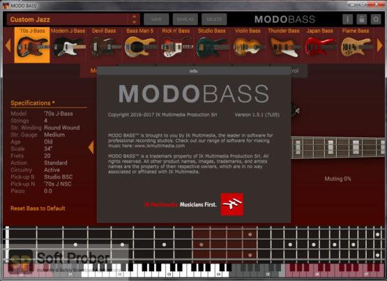 IK Multimedia MODO BASS 2021 Offline Installer Download-Softprober.com