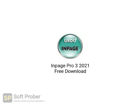 Inpage Pro 3 2021 Free Download-Softprober.com