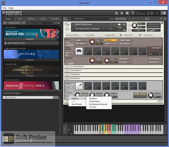Native Instruments Kontakt PORTABLE 2021 Offline Installer Download-Softprober.com