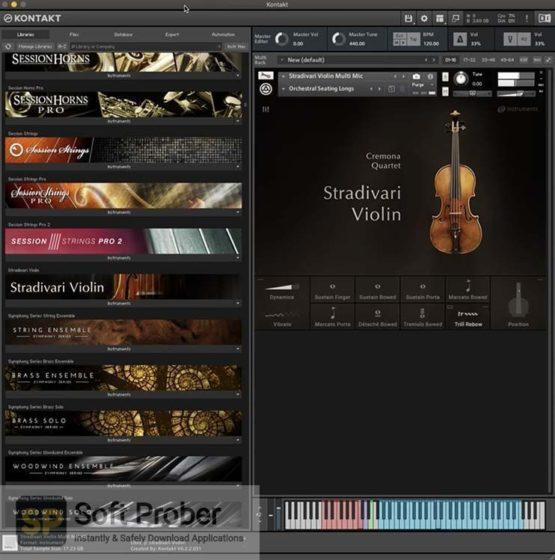 Native Instruments Stradivari Violin 2021 Offline Installer Download-Softprober.com