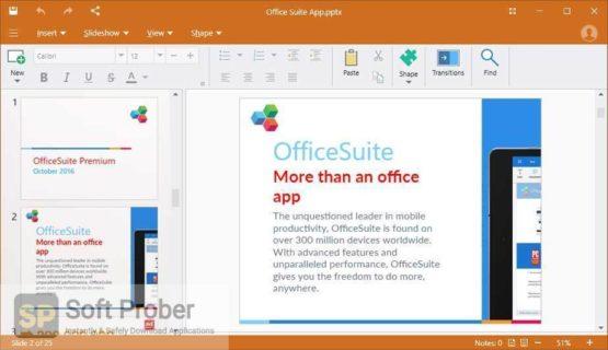 OfficeSuite Premium 5 2021 Direct Link Download-Softprober.com