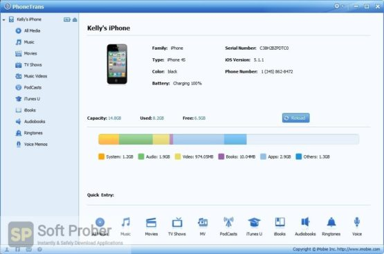 PhoneTrans 5 2021 Latest Version Download-Softprober.com