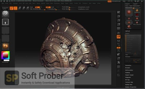 Pixologic ZBrush 2021 Latest Version Download-Softprober.com