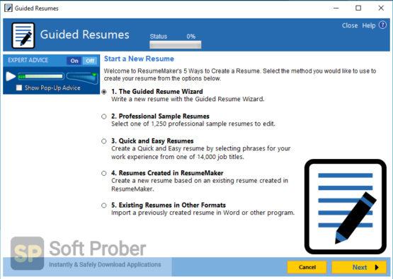 ResumeMaker Professional Deluxe 2021 Latest Version Download-Softprober.com