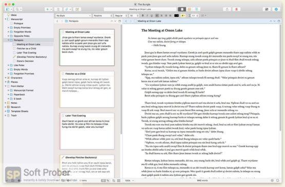 Scrivener 2021 Offline Installer Download-Softprober.com